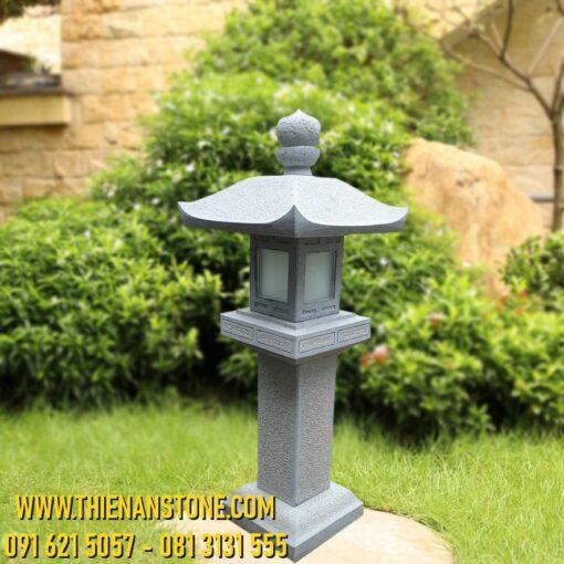 Cột Đèn Đá Lồng Lục Lăng 100cm