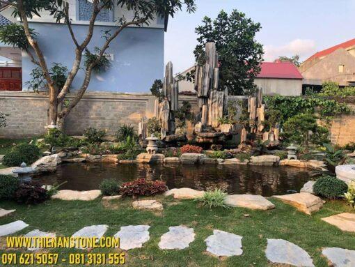 Thi Công Hồ Cá Koi Quốc Oai - Hà Nội