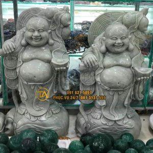 Tuong-phat-di-lac-cam-thoi-vang-tdl40