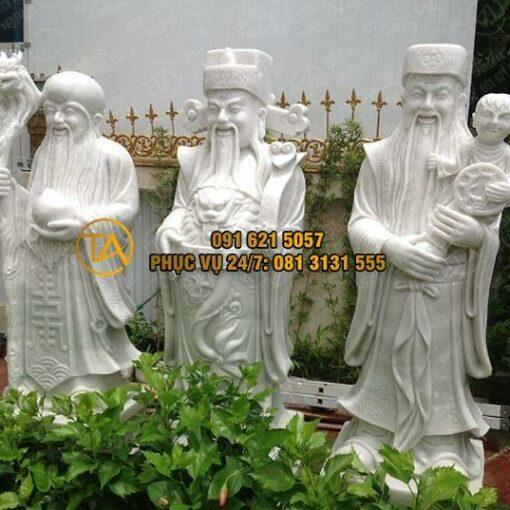 Tượng Tam Đa - Phúc Lộc Thọ