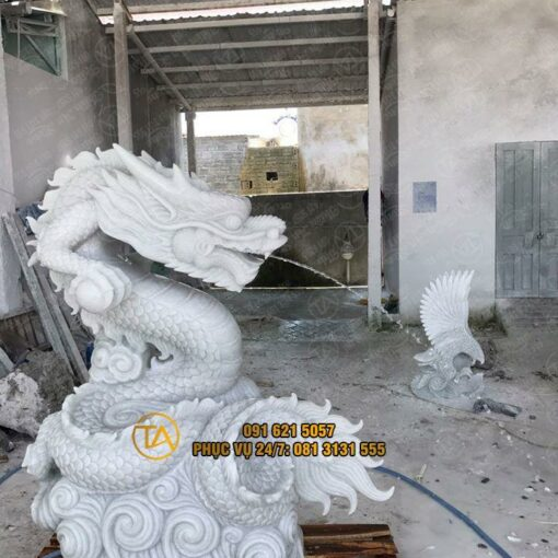 Tượng Con Rồng đá; Tượng Rồng đá; Tượng Rồng Phong Thuỷ