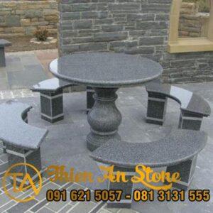 Bàn Ghế Đá Granite - Hoa Cương