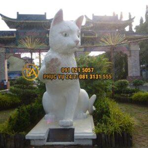 Tượng Mèo Đá