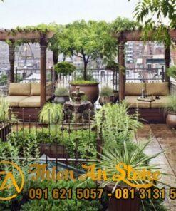 Sân Vườn Sân Thượng Đẹp
