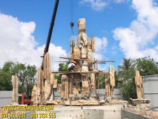Thi Công Hòn Non Bộ Tại Hạ Long, Quảng Ninh