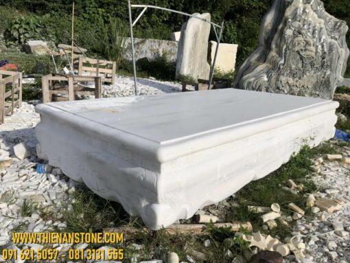 Sập đá cẩm thạch trắng
